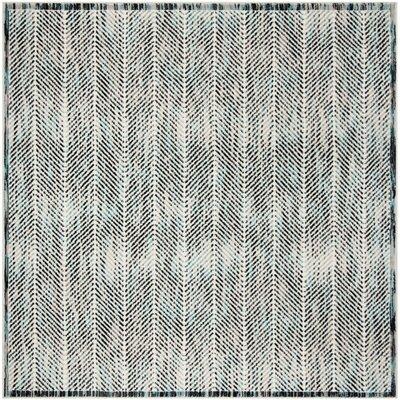 Coggin Gray Area Rug Rug Size: Square 67