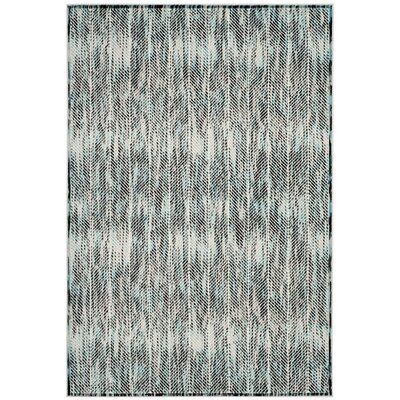 Coggin Gray Area Rug Rug Size: Rectangle 4 x 6