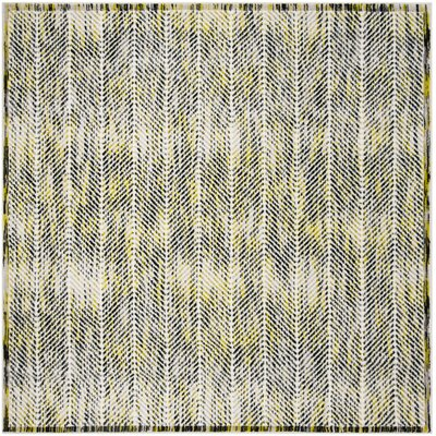 Coggin Gray/Green Area Rug Rug Size: Square 67
