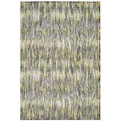 Coggin Gray/Green Area Rug Rug Size: Rectangle 4 x 6