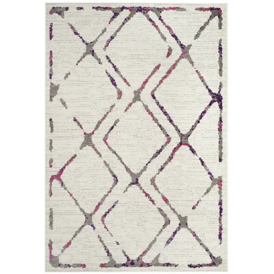 Cohrs Ivory Area Rug Rug Size: Rectangle 4 x 6