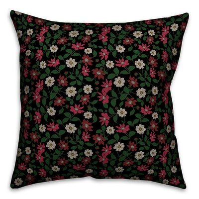 Oshea Floral Garden Throw Pillow