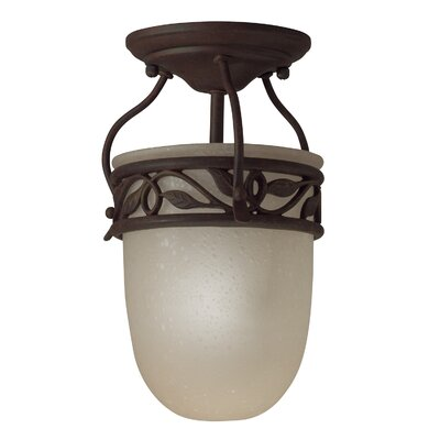 Britton 1-Light LED Semi Flush Mount