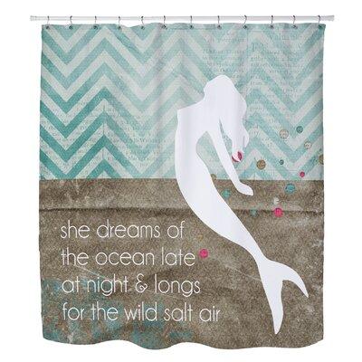 Holte Mermaid Wild Salt Air Shower Curtain