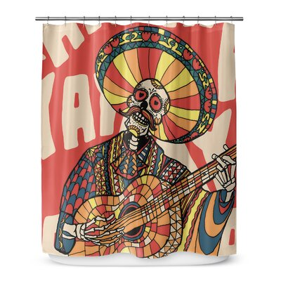 Groce Mariachi Shower Curtain