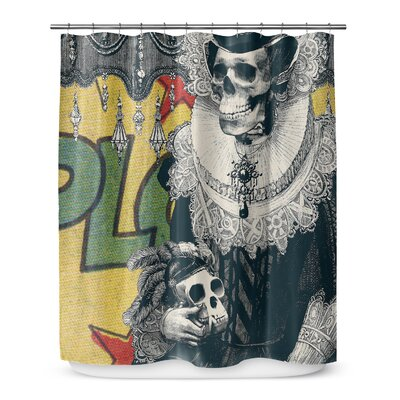Groner Lady Cushion Shower Curtain
