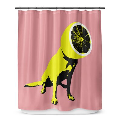Grossi Lemon Shower Curtain