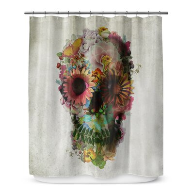 Grosso Skull Shower Curtain