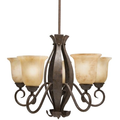 Broken Hill 5-Light Candle Style Chandelier