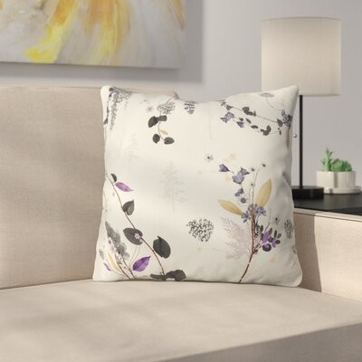 Iveta Abolina Woodland Dream Throw Pillow Size: 18 x 18