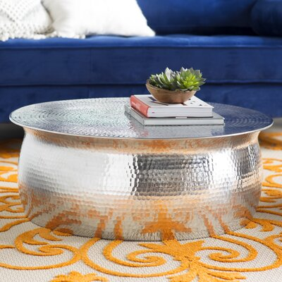 Tera Coffee Table Color: Aluminium