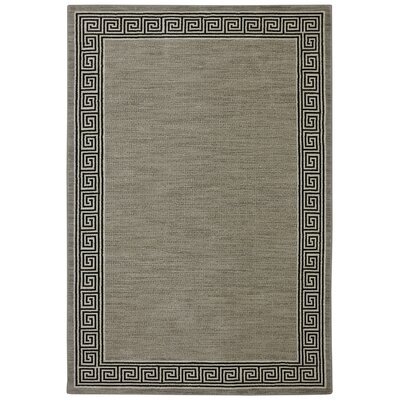 Naudain Gray Area Rug Rug Size: Rectangle 96 x 1211