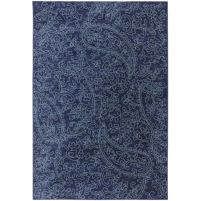 Cudney Indigo Area Rug Rug Size: Rectangle 96 x 1211
