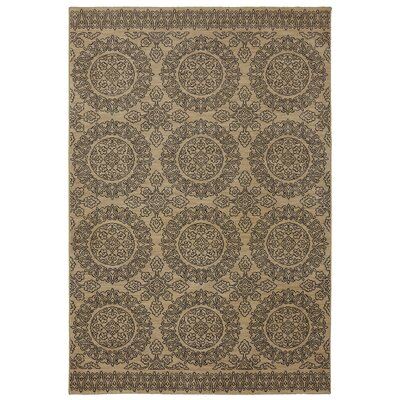 East Clevedon Tan Area Rug Rug Size: Rectangle 96 x 1211