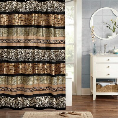 Newburn Animal Print Shower Curtain
