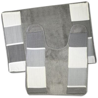 Hewitt 2 Piece Bath Rug Set