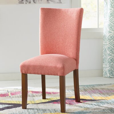 Lainey Parsons Chair Upholstery: Mango Coral
