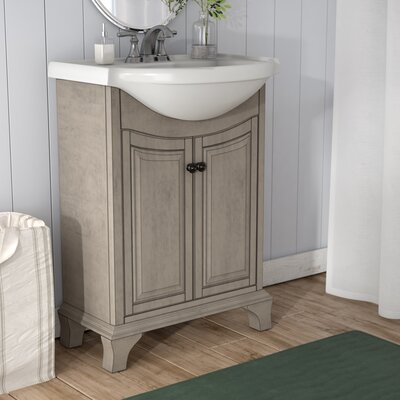 Athens 25.75 Bathroom Vanity Base Finish: Antique Gray