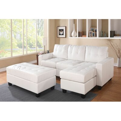 Omeara Bonded Sectional with Ottoman