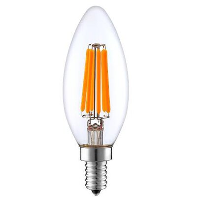 40W Equivalent E12 LED Candle Edison Light Bulb