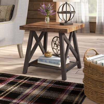 Silvis End Table Color: Brown