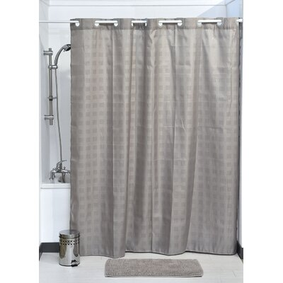 Hookless Shower Curtain Color: Taupe