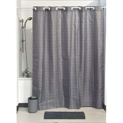 Hookless Shower Curtain Color: Gray