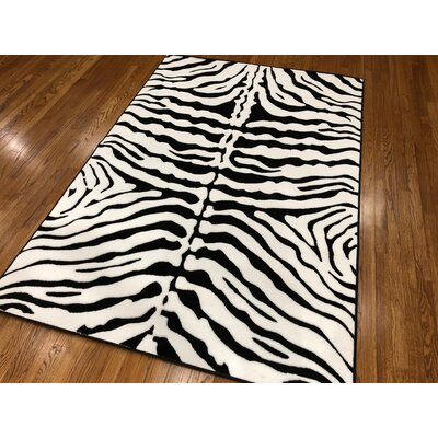 Hoglund Light Gray Area Rug Rug Size: Rectangle 5 x 7