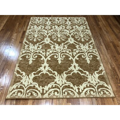 Meador Caramel Area Rug Rug Size: Rectangle 37 x 5