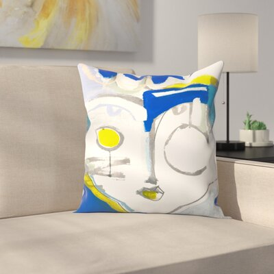 Olimpia Piccoli The Empress Throw Pillow Size: 16 x 16