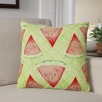 Bethanie Watermelon Outdoor Throw Pillow
