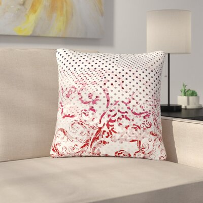 Victoria Krupp Mixing Dots Digital Outdoor Throw Pillow Size: 18 H x 18 W x 5 D