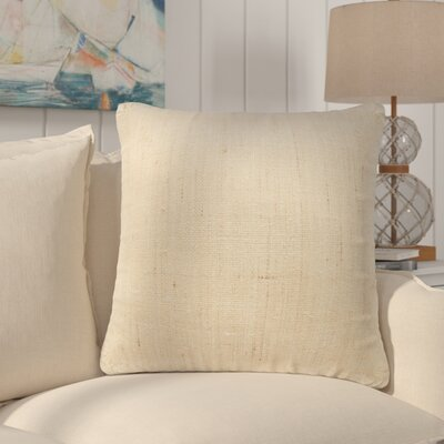 Elmhurst Textured 100% Silk Throw Pillow Fill Material: Down/Feather