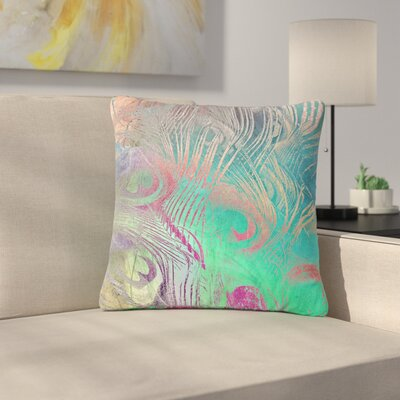 Alison Coxon Indian Summer Abstract Outdoor Throw Pillow Size: 18 H x 18 W x 5 D