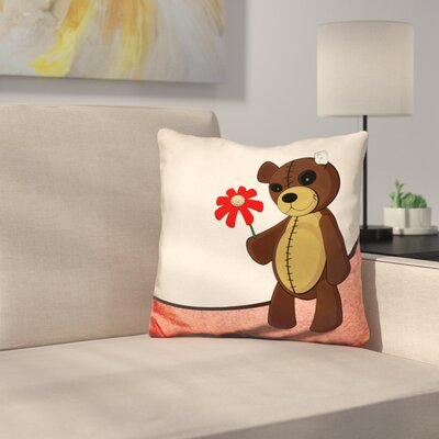 Manorhaven Sweet Teddy Throw Pillow