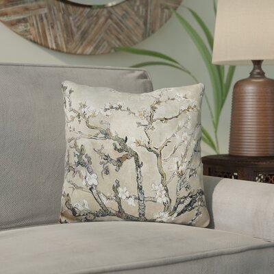 Ecker Almond Branches Throw Pillow