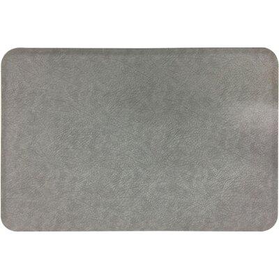 Groggan Anti-Fatigue Kitchen Mat Color: Gray