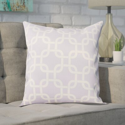 Sessums 100% Cotton Throw Pillow Color: Wisteria, Size: 20 H x 20 W