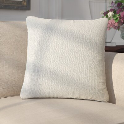Merlyn Solid Throw Pillow Color: Seasame