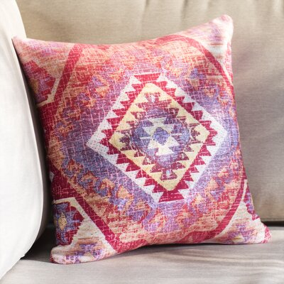 Lynnette Square Indoor/Outdoor Throw Pillow Size: 16 x 16