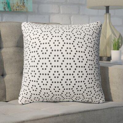 Rosio Honycomb Throw Pillow Size: 16 x 16