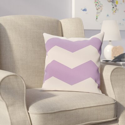 Milo Throw Pillow Size: 20 H x 20 W, Color: Lilac