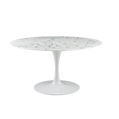 Berkhamstead Marble Dining Table Size: 30 H x 36 W x 36 D
