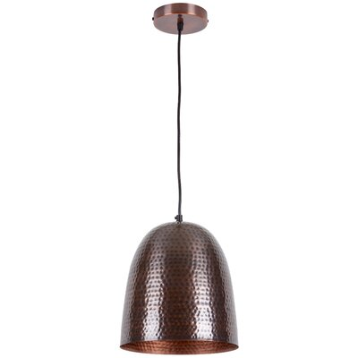 Feemster 1-Light Mini Pendant Shade Color: Nickel