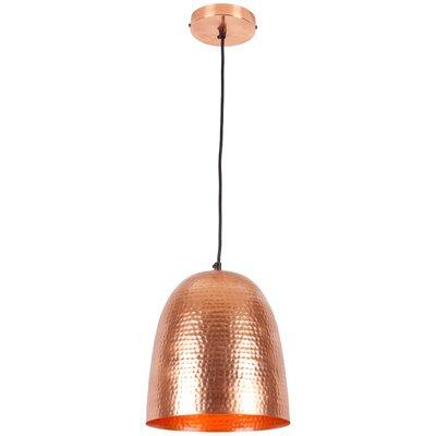 Feemster 1-Light Mini Pendant Shade Color: Copper
