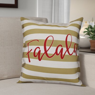 Falala Throw Pillow Size: 18 x 18, Type: Pillow Cover