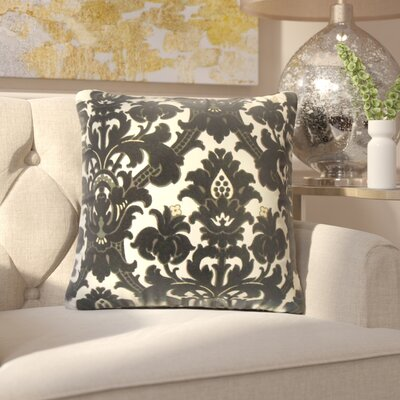 Borum Damask Throw Pillow