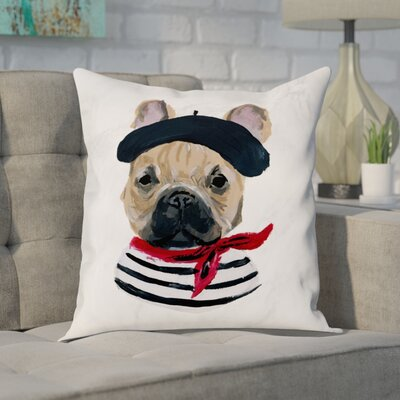 Ferndown Frenchie Throw Pillow