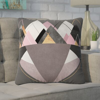Jaworski Outdoor Throw Pillow Size: 16 H x 16 W x 4 D