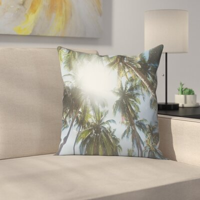 Luke Gram El Nido Philippines Throw Pillow Size: 18 x 18